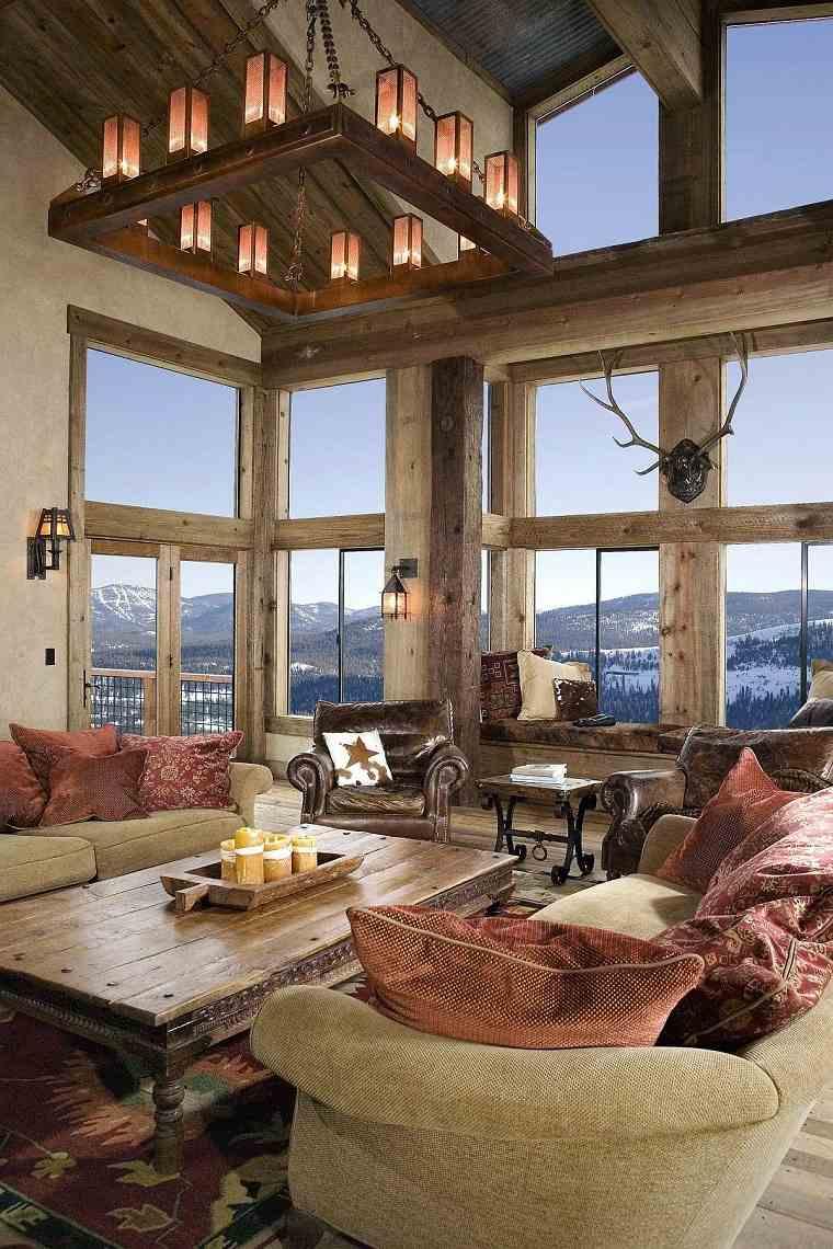 Salon-rustico-moderno-color-sobrio-muebles-ideas