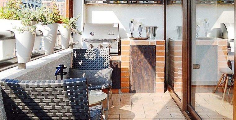 Barbacoas en balcones, terrazas o jardín – Hazlo de manera segura