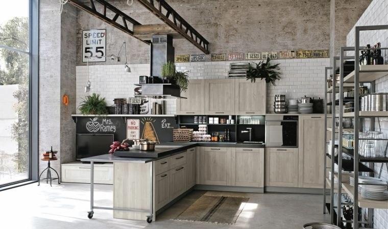 Cocinas con estilo de diseño industrial – Consejos e ideas