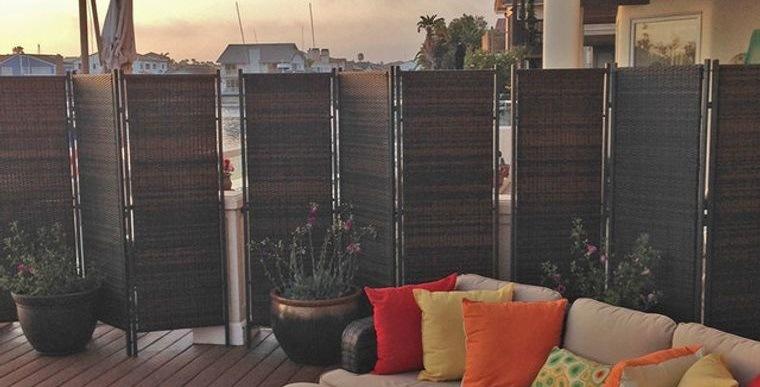 cómo cerrar una terraza sin obra con mamparas