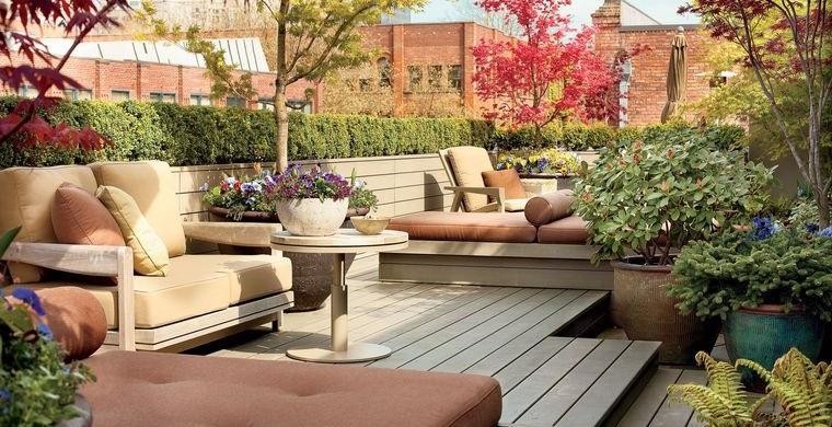 cómo cerrar una terraza sin obra con plantas