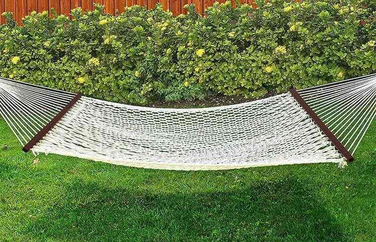 hamacas para jardín con tejido en nailon