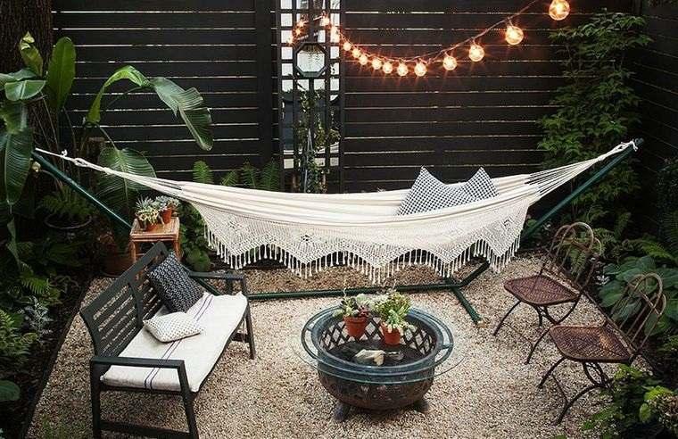 hamacas para jardín estilo moderno