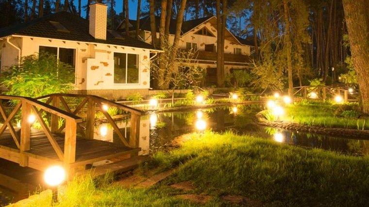 iluminación decorativa para jardin
