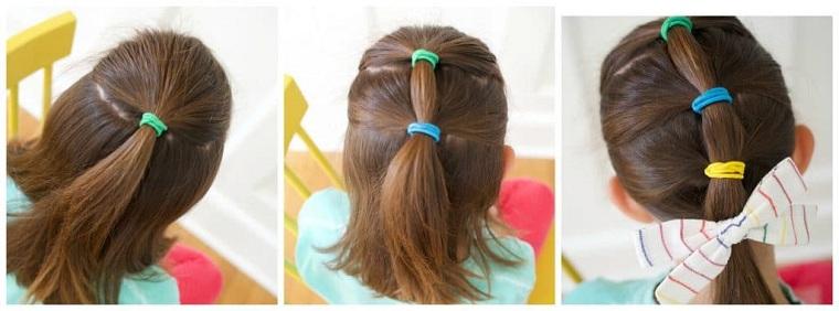 Peinados fáciles y bonitos para niñas-2021