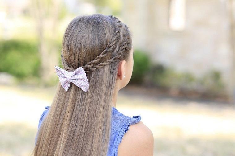 Peinados fáciles y bonitos para niñas-ideas