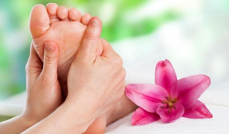pies sanos masajes relajantes