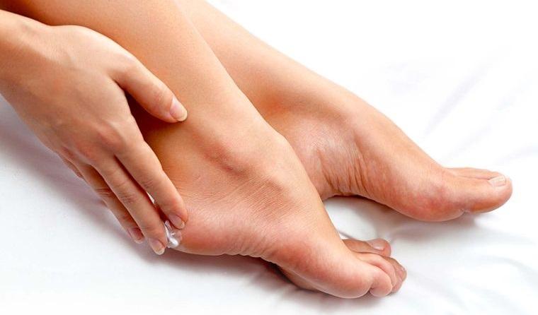pies sanos piel suave