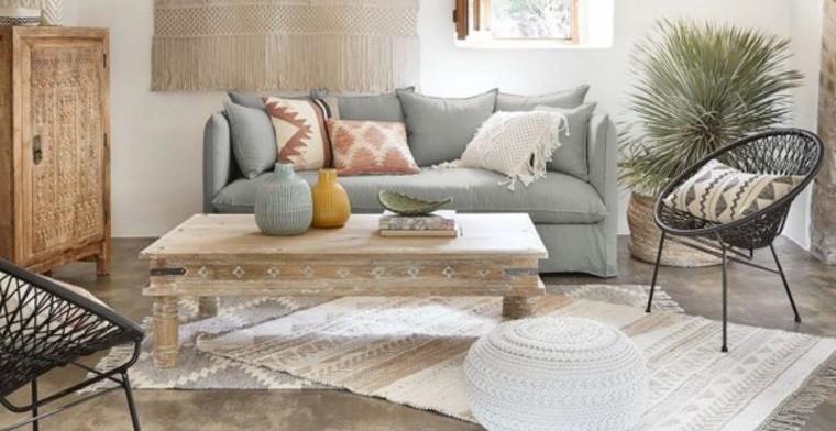 sofá sala de estar maison du monde