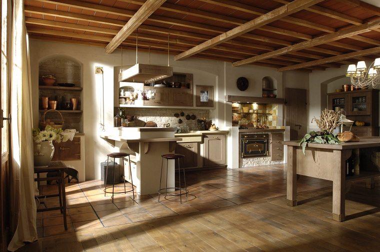 toques-rusticos-salon-estilo-cocina