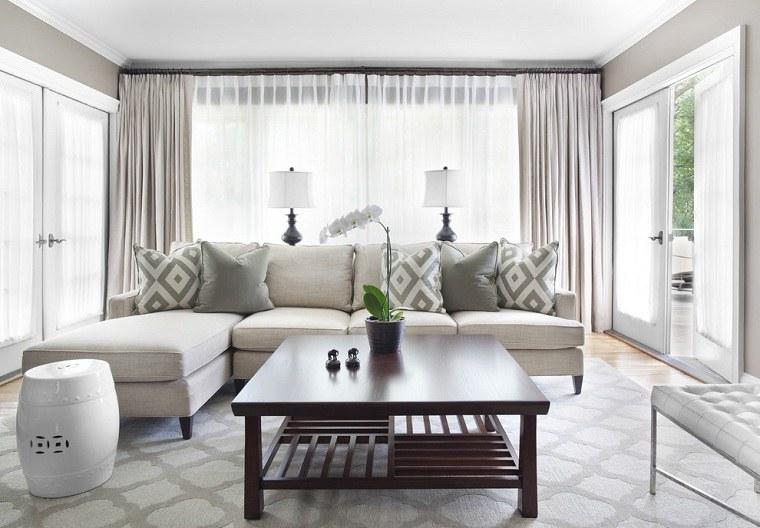 Cómo elegir cortinas colores-claros