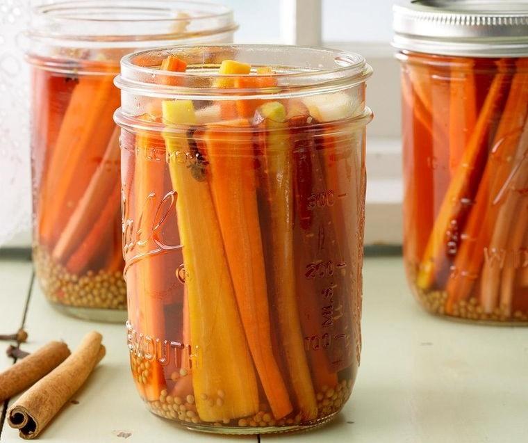 conservar zanahorias encurtidos