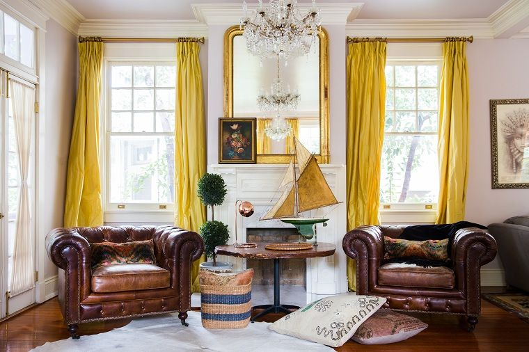 cortinas-color-amarillo-diseno-hogar