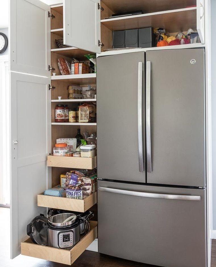 diseños de cocinas con gran almacenamiento
