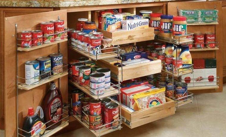 diseños de cocinas con mucho almacenamiento
