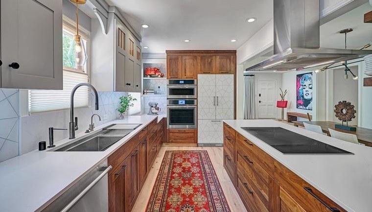 diseños de cocinas con muchos detalles