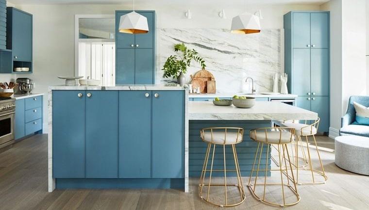 diseños de cocinas en tendencia 2021