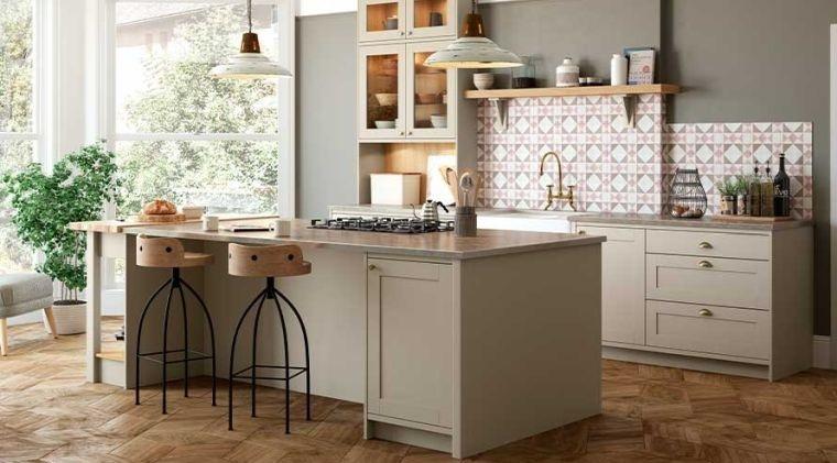 diseños de cocinas ideas de color