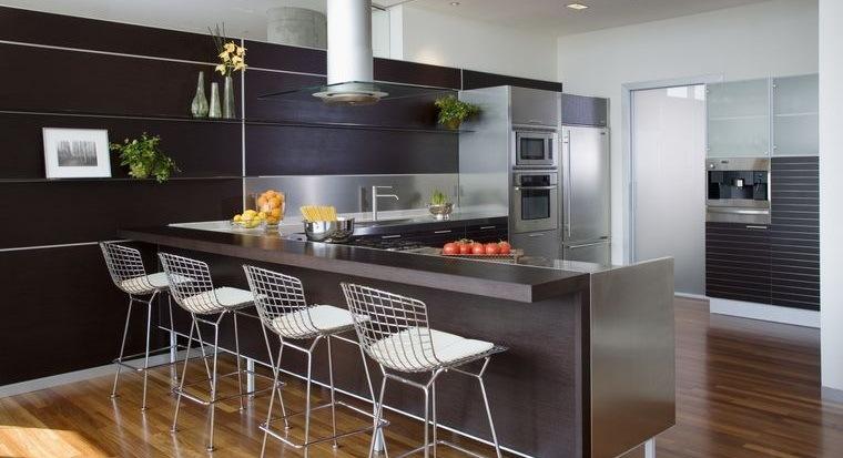 diseños de cocinas modernos elegantes