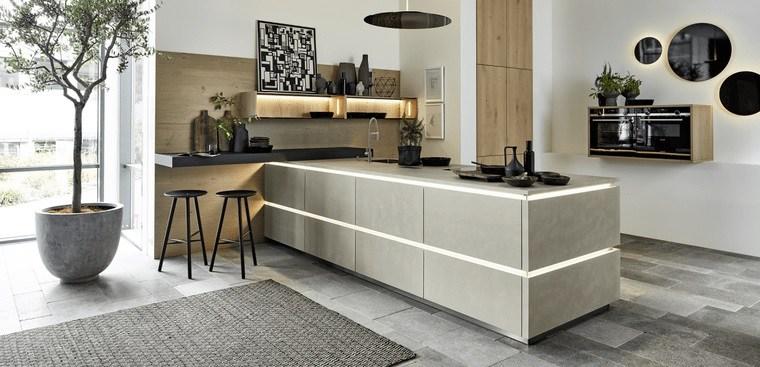 diseños de cocinas original elegante