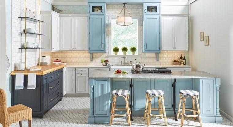 diseños de cocinas pequeñas acogedoras
