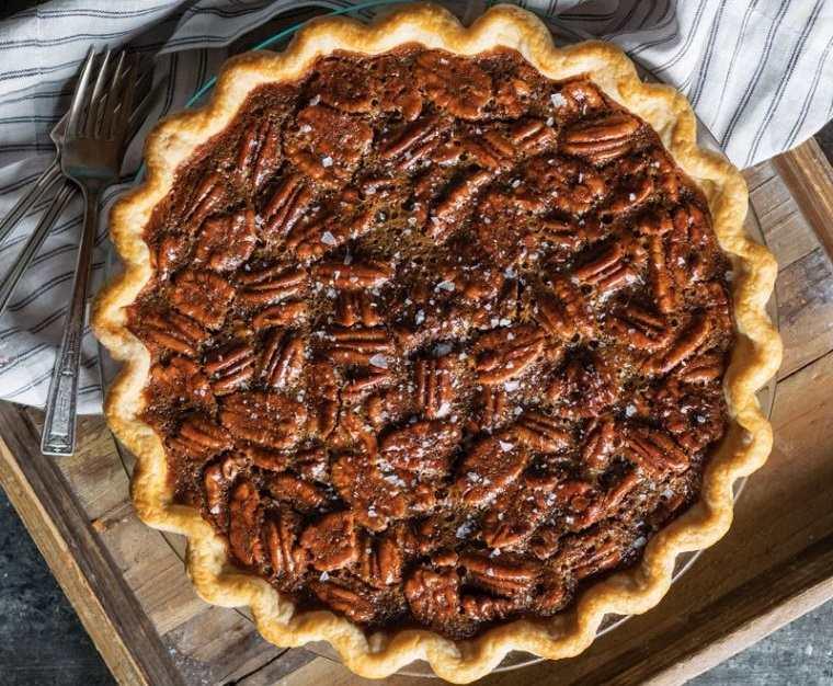 postres de otoño pastel chocolate nueces