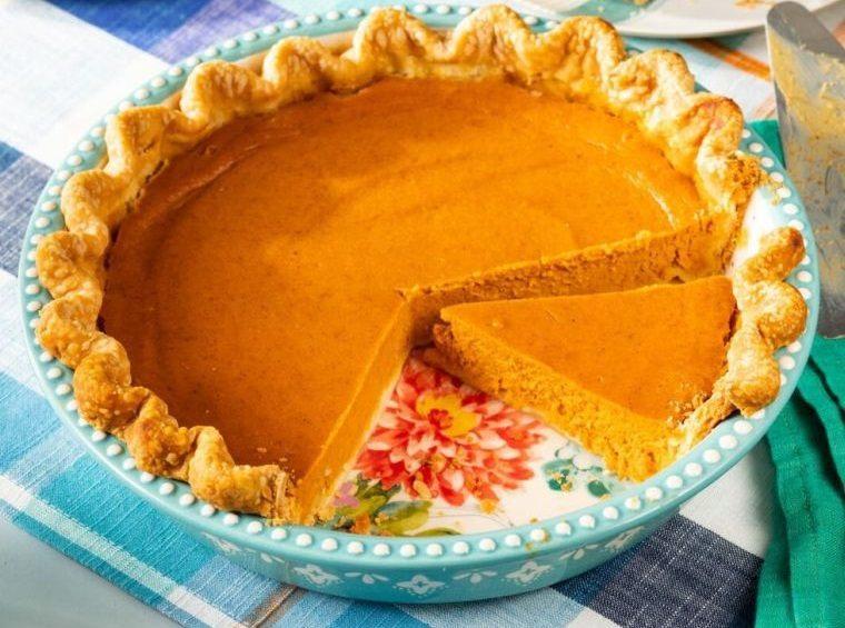 postres de otoño pastel de calabaza