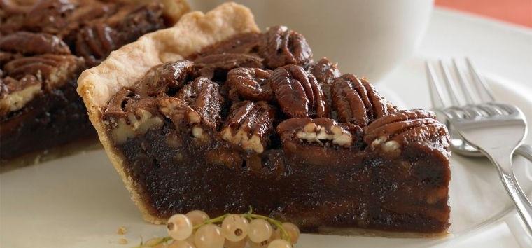 postres de otoño tarta chocolate nueces