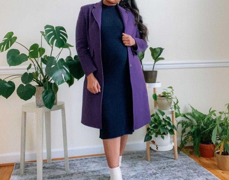 ropa para embarazadas colores oscuros