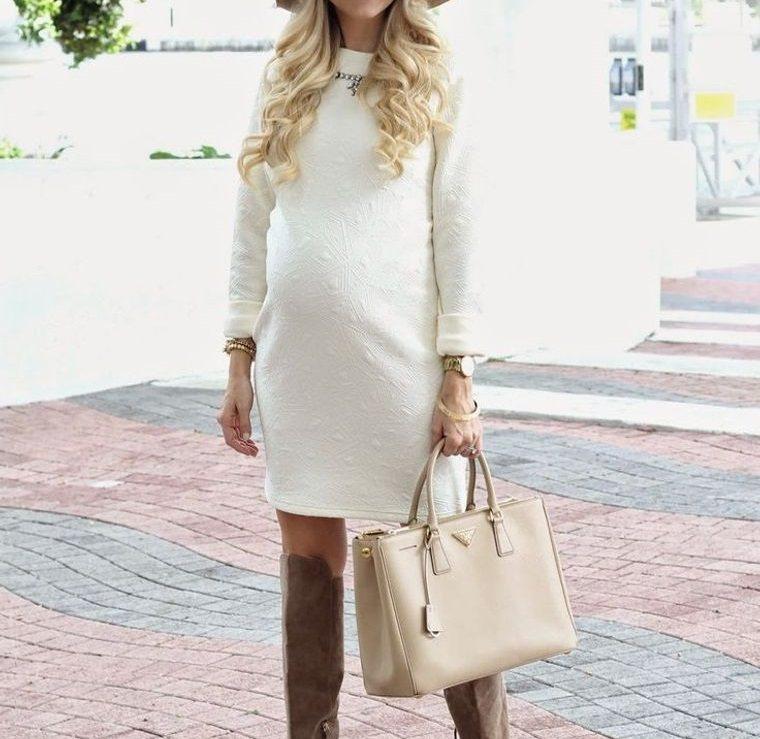 ropa para embarazadas con botas