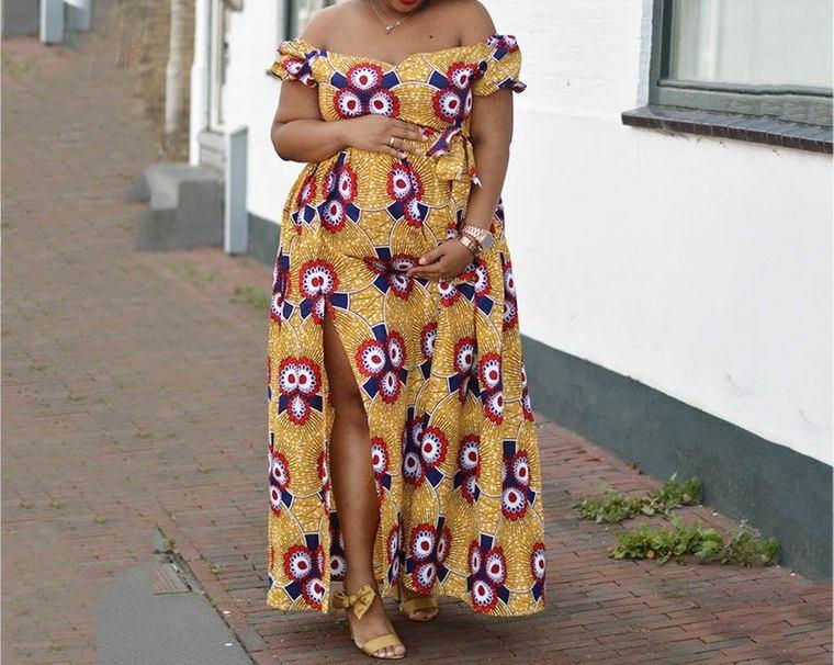 ropa para embarazadas vestido maxi