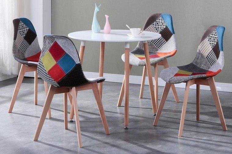 sillas de diseño estilo patchwork