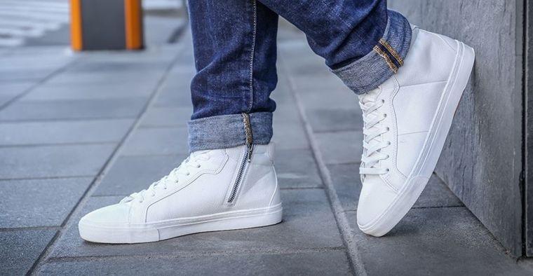 zapatos blancos mantenimiento